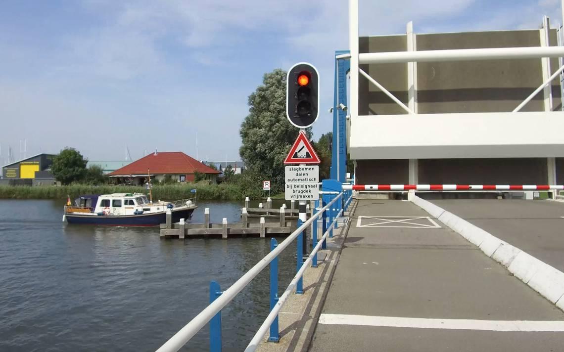 Drukste brug van Friesland